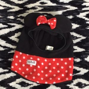 Cozy winter Minnie Mouse hat